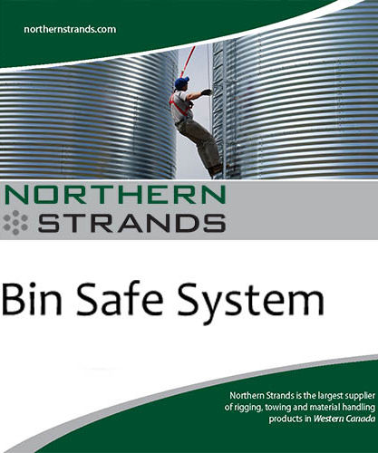 Grain Bin Fall Protection System