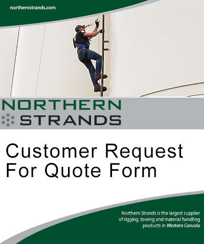 Customer Request for Quote Form