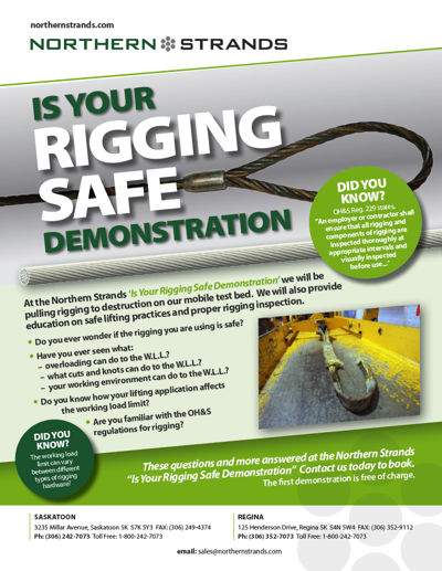 Is Your Rigging Safe