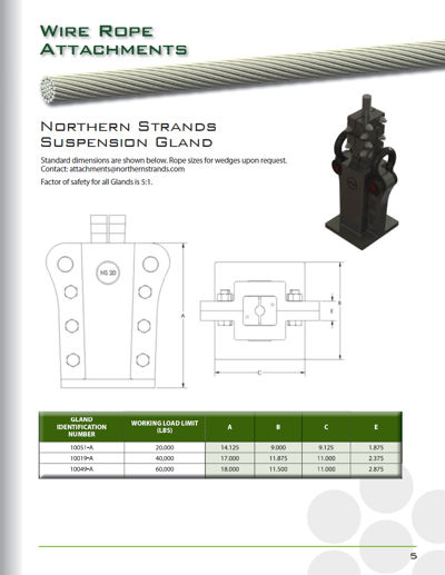 Suspension Gland