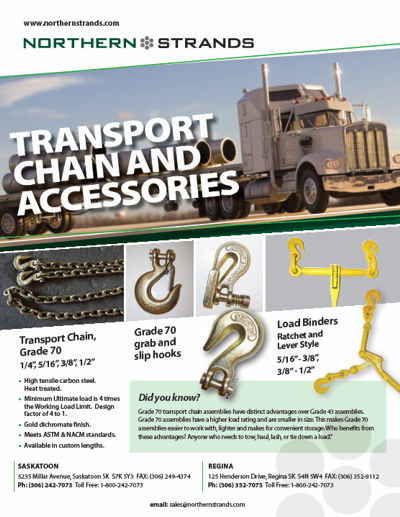 Transport Chain and Accessories