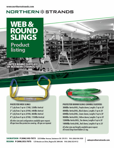 Web and Round Slings